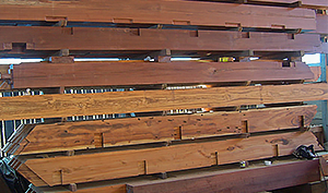 Precision Milled Timbers