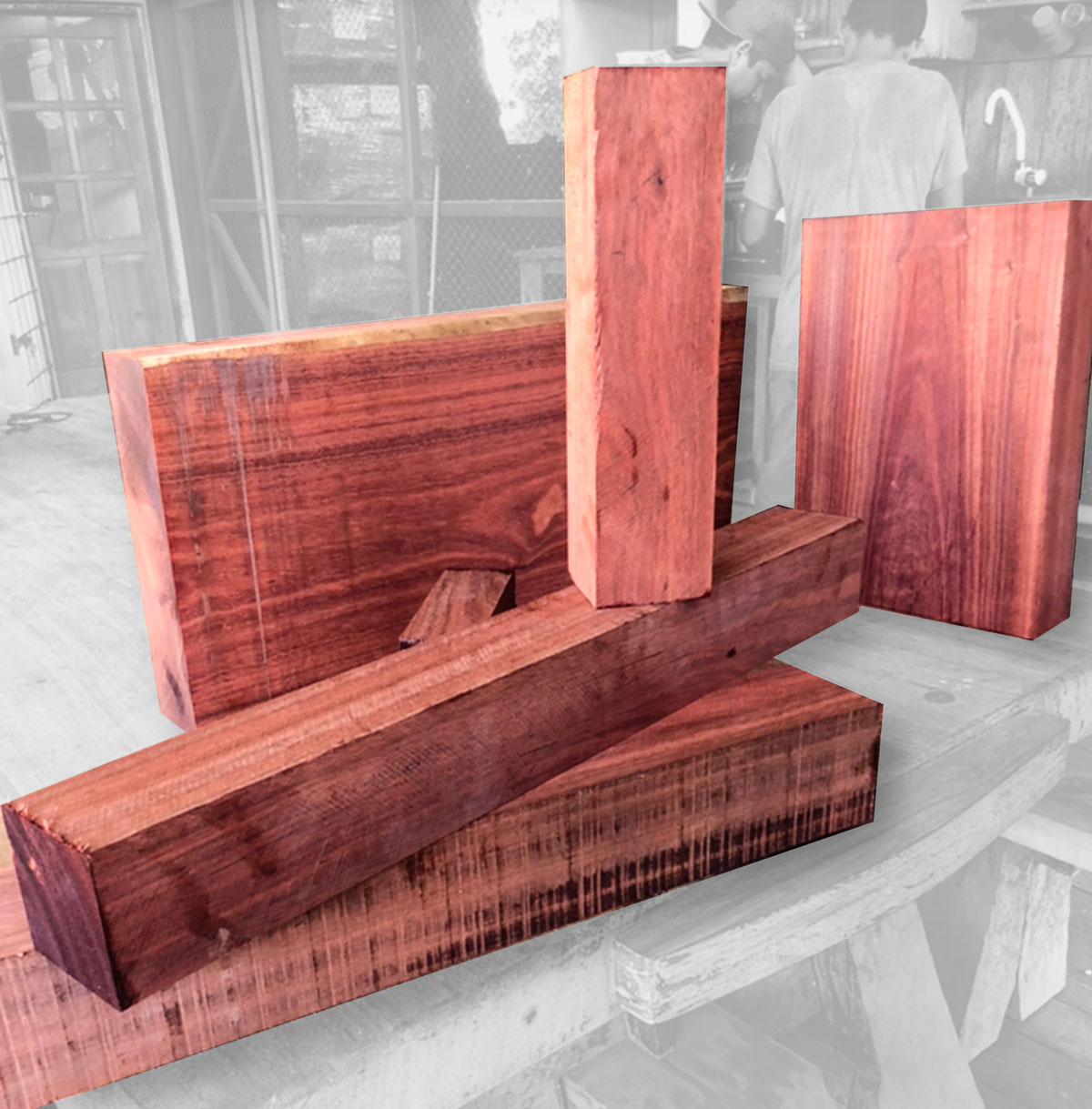Bloodwood – Rare Earth Hardwoods